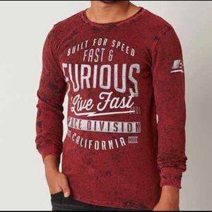 Affliction Fast & Furious Thermal.  2X